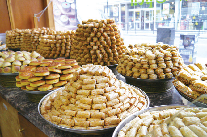 Freshly Prepared Baklava